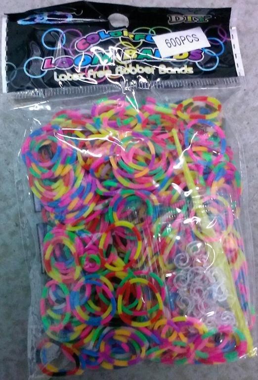 Резинки для плетения браслетов оптом